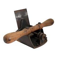 American Stanley Wood and Metal No. 12 Veneer Planer Woodworking Hand Tool