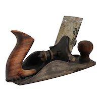 Vintage American Stanley Wood and Metal No. 112 Cabinet Scraper Plane Hand Tool