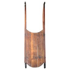 Small American New England Pine Child's Runner Sled
