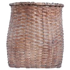 American Maine Maple Splint Back Pack Basket