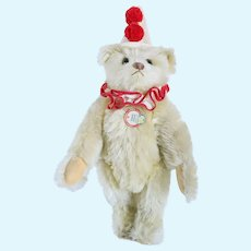Limited Edition German Steiff 1926 Replica Teddy Clown Bear Stuffed Toy