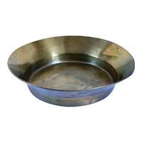 Large Russian Brass Round Wedding Bride's Bread Making Bowl