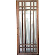 American Mission Beveled Glass Quarter Sawn Oak Single Door (2 available)