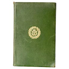 Leather Bound Book: JOHN RUSKIN The Stones of Venice, Volume I