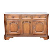 French Louis XIV Oak Enfilade Sideboard