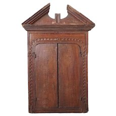 Small Indo-Portuguese Reliquary Hanging Cabinet