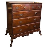 Indo-Portuguese Mahogany Chest of Drawers on Stand