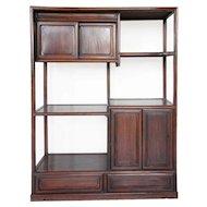 Japanese Rosewood Shodana Display Cabinet Shelf