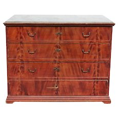 Swedish Allmoge Painted Pine Chest of Drawers