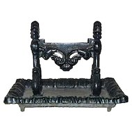 English Regency Kenrick Cast Iron Boot Scraper