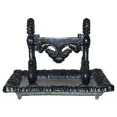 English Regency Kenrick Cast Iron Boot Scraper