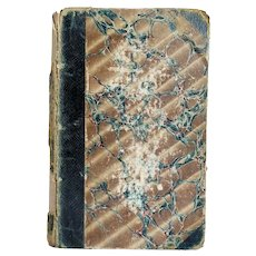 Leather Bound Book: Peveril of the Peak by Sir Walter Scott