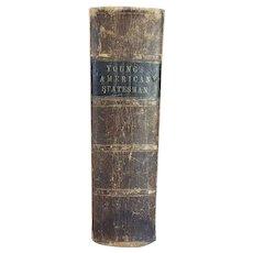 Leather Bound Book: An American Statesman