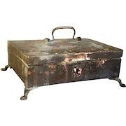 Anglo Indian Regency Metal Desk Box