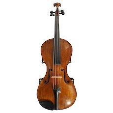 Italian Giovanni Petro Caloni Ram's Head Full Size Violin