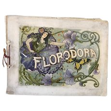 American Paper Theater Program: Florodora, A Musical Comedy by Owen Hall