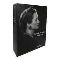 Boxed Set Three-Volume Sotheby's Auction Catalog: The Duke & Duchess of Windsor
