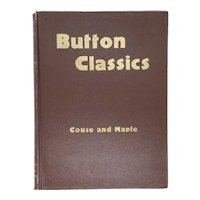Vintage American Book: Button Classics by L. Erwina Couse and Marguerite Maple