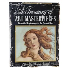 Art History Book: A Treasury of Art Masterpieces from the Renaissance to the Present Day