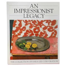 Art Book: An Impressionist Legacy, The Collection of Sara Lee Corporation