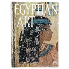 Vintage Art Book: Egyptian Art in the Egyptian Museum of Turin by Ernesto Scamuzzi