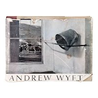 First Edition Vintage Art Book: Andrew Wyeth by Richard Meryman