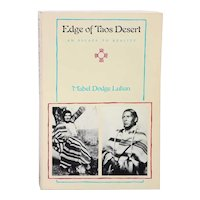Vintage Book: Edge of Taos Desert, An Escape to Reality by Mabel Dodge Luhan