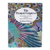 Vintage First Edition Book: The Dragon Empress by Marina Warner