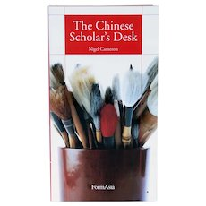 Book: The Chinese Scholar's Desk by Nigel Cameron
