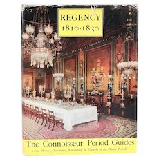 Vintage Book: Regency 1810-1830, Connoisseur Period Guides by R. Edwards and L.G.G. Ramsey