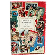 Vintage Book: The History of Christmas Card by Georges Buday