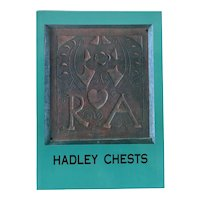 Exhibition Catalog Book: Hadley Chests by Philip Zea and Suzanne L. Flynt
