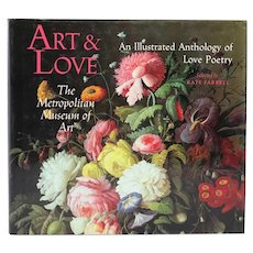 Book: Art & Love, An Illustrated Anthology of Love Poetry by Kate Farrell