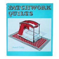 Vintage Book: Patchwork Quilts by Averil Colby