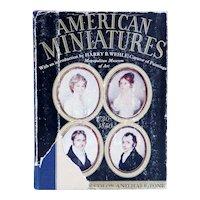 Vintage Book: American Miniatures, 1730-1850 by Harry B. Wehle