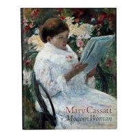 Art Book: Mary Cassatt, Modern Woman by Judith A. Barter