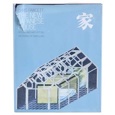 Vintage Book: New Japanese House, Ritual and Anti-Ritual Patterns of Dwelling by Chris Fawcett