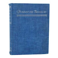 Vintage Book: Furniture Treasury by Wallace Nutting, Two Volumes in One