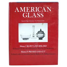 Vintage Book: American Glass, Volumes I and II by Marvin D. Schwartz