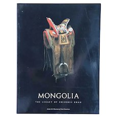 Book: Mongolia, The Legacy of Chinggis Khan by P. A. Berger & T. T. Bartholomew