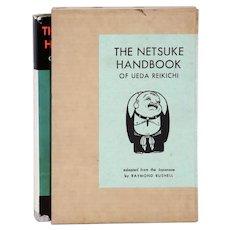 Vintage Book: The Netsuke Handbook of Ueda Reikichi by Raymond Bushell