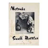 Vintage American Auction Catalog Book: Nestuke Snuff Bottles
