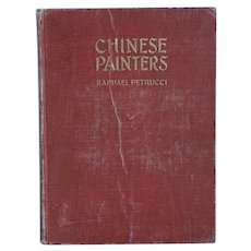 Vintage Book: Chinese Painters, A Critical Study by Raphael Petrucci