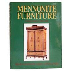 Book: Mennonite Furniture, A Migrant Tradition (1766-1910) by R.K and J.M. Janzen