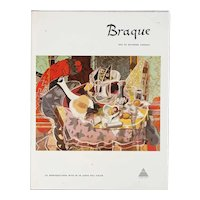 Vintage Art Book: Braque by Raymond Cogniat