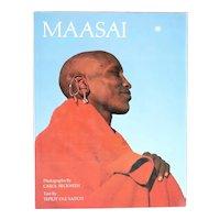 Signed Vintage Book: Maasai by Teplit Ole Saitoti