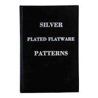 Vintage Signed Book: Silver Plated Flatware Patterns by Fredna H. Davis & Kenneth K. Diebel