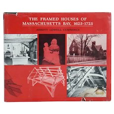 Book: The Framed Houses of Massachusetts Bay, 1625-1725 by Abbott Lowell Cummings