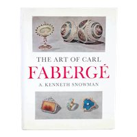 Vintage Book: The Art of Carl Faberge by A. Kenneth Snowman