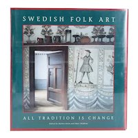 Book: Swedish Folk Art, All Tradition is Change by Barbro Klein and Mats Widbom